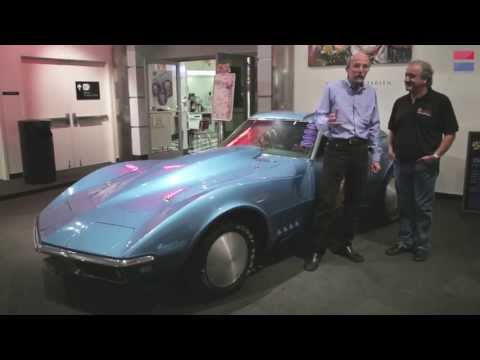 Chevrolet Corvette 60th Anniversary Exhibit at the Petersen Automotive Museum - CAR and DRIVER