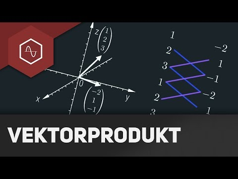 Kreuzprodukt - Vektorgeometrie