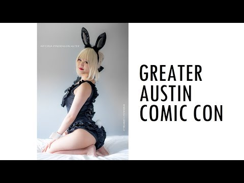 Greater Austin Comic Con 2018 Cosplay Music Video