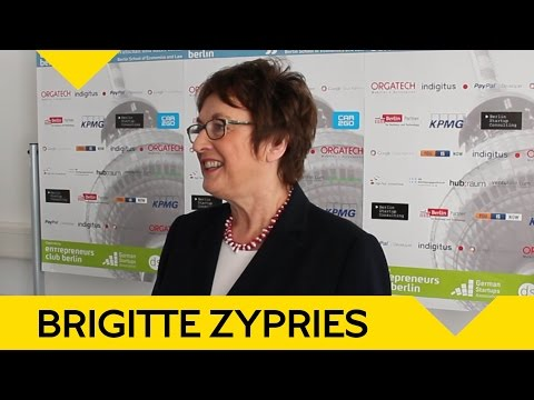 So will Brigitte Zypries jungen Unternehmen helfen