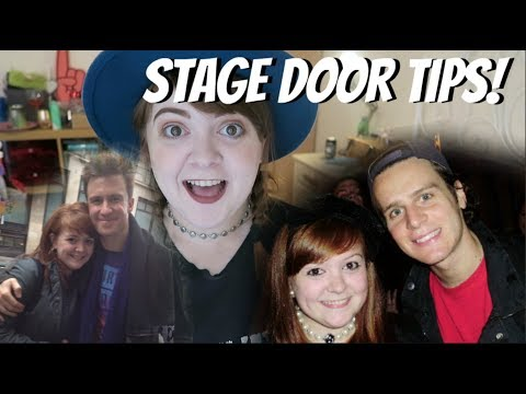 STAGE DOOR TIPS! Amy Lovatt