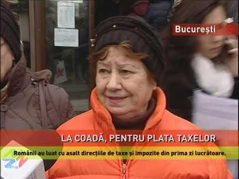 Românii au luat cu asalt direcțiile de taxe și impozite din prima zi lucrătoare