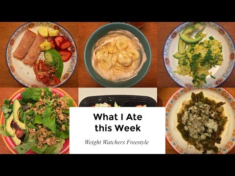 Low carb diet - Weight Watchers Food Vlog  What I Ate this Week  Low Carb