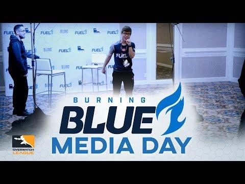 Burning Blue - Episode 1 - OWL Media Day