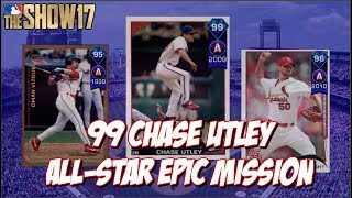 New 99 Overall Chase Utley Mission!!  Leave a Like and Subscribe for MLB The Show 17!➠Twitter - https://twitter.com/KPritz21Check out my MLB The Show 17 Playlists!➠ Ranked Seasons - https://www.youtube.com/playlist?list=PL5AHVL-omk8OB2IzhUoDwOmGViHd4BYvC➠ Epics, Missions, Packs & Programs - https://www.youtube.com/playlist?list=PL5AHVL-omk8PzjCnMDW8Efqr-wuc_sydQ➠ Road To The Show - https://www.youtube.com/playlist?list=PL5AHVL-omk8PmZI0c52cTu0iLCTt7OZ5hThanks for Watching!!
