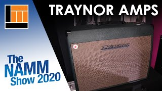L&M @ NAMM 2020: Traynor Amps