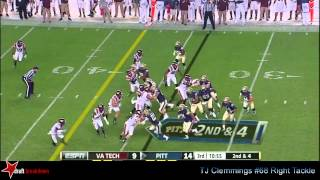 T.J. Clemmings vs Virginia Tech (2014)
