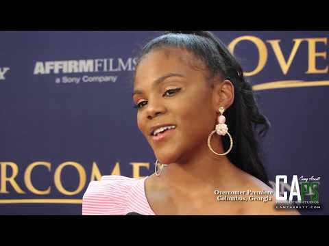 Overcomer Premiere: Interview with  Aryn Wright-Thompson