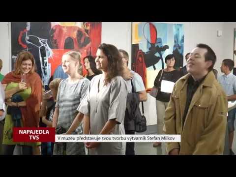 TVS: Napajedla - Vernisáž Stefan Milkov