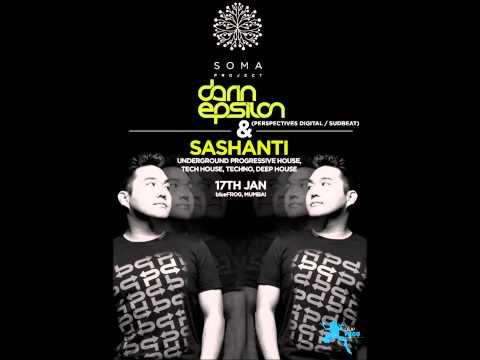 Darin Epsilon - Live at Blue From in Mumbai Jan 2014