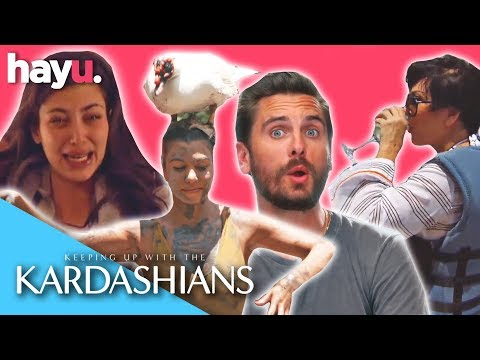 On Holiday With The Kardashians 🌴| Keeping Up With The Kardashians