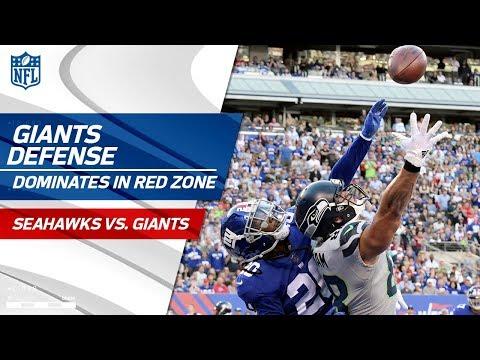 Video: New York Holds Seattle Scoreless on 9 Plays Inside the 10-Yd Line! | Seahawks vs. Giants | NFL Wk 7