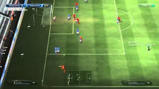 Mẹo FIFA Online 3: Sút phạt xà (bóng thấp), fifa online 3, fo3, video fifa online 3
