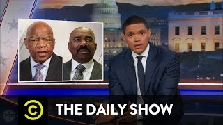 Video Donald Trump's Eventful Martin Luther King Day Weekend: The Daily Show MP3, 3GP, MP4, WEBM, AVI, FLV April 2018