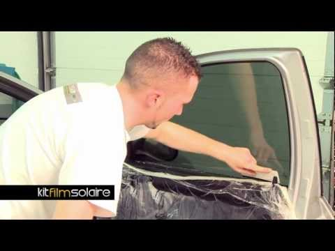 comment poser vitre teintée voiture