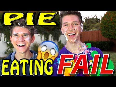 PIE EATING CONTEST GONE WRONG | Collins Key & Devan Key