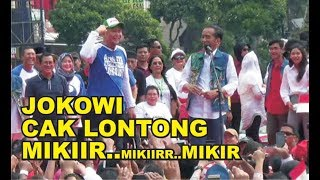 Video Jokowi ajak cak lontong mikiir ..mikir..mikiiirr ( acara forum alumni se jatim di tugu pahlawan) MP3, 3GP, MP4, WEBM, AVI, FLV Juni 2019