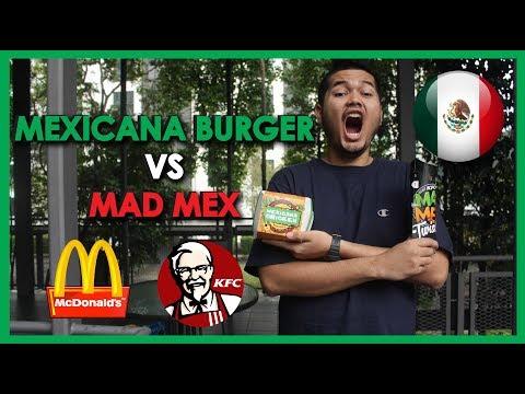 McD VS KFC Edisi Mexico!!! (Mexicana Burger Vs MadMex)