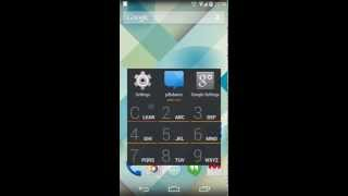 AppDialer T9 app/people search YouTube video