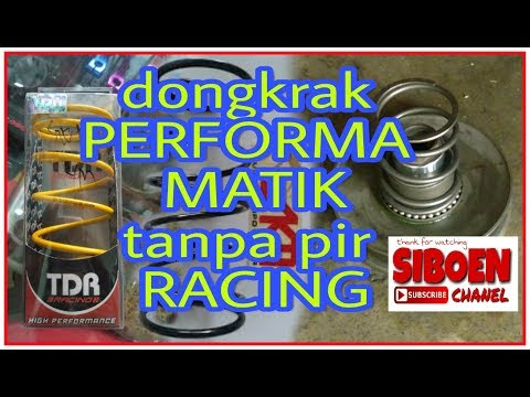 Pelor Racing Cvt Mio #siboen Tutor