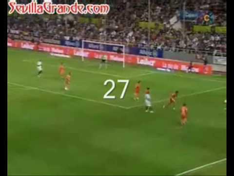 Los 50 mejores goles de Kanouté