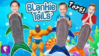 """Sharks are super hungry ! Must open their jaws to out Surprises. Pool float toys, vintage """"The Thing"""". Can They swim like mermaid/man and not get eaten by sharks?This idea created by HobbyKidsTV. Subscribe for NEW Shows: http://www.youtube.com/subscription_center?add_user=HobbyKidsTV ---TOY VIDEOS---Family Video Gaming Fun: https://www.youtube.com/playlist?list=PLzDMAGLsSlZrhbIdcXn1B5qLtd_6D9407World's Biggest Surprise Eggs: https://www.youtube.com/playlist?list=PLzDMAGLsSlZoNvpGg-ijs4DlYu2RMSOxoGames and Challenges: https://www.youtube.com/playlist?list=PLzDMAGLsSlZqo_IVVsyn7Sn0yFehplgK1Best Family Fun Shows: https://www.youtube.com/playlist?list=PLzDMAGLsSlZpBsqsE4zkBbucAsQ0bgiWdLearning Playlist:http://www.youtube.com/playlist?list=PLzDMAGLsSlZo8aAHrPRzVmM_oW_hZtxdO---OUR OTHER HOBBY CHANNELS---HobbyFamilyTV (Vlog and Extras): http://www.youtube.com/user/hobbykidsvidsHobbyPigTV (Video Gaming):http://www.youtube.com/user/hobbygamestvHobbyFrogTV (Video Gaming):http://www.youtube.com/user/hobbytrixieHobbyBearTV (Toys, Video Games, more):http://www.youtube.com/user/hobbykidsland---FIND US---http://www.Twitter.com/HobbyKidsTVhttps://www.facebook.com/HobbyKidsTV/http://www.HobbyKidsTV.comhttps://www.instagram.com/hobbykidstv/---ABOUT HobbyKidsTV---HobbyKidsTV is the #1 place for kids to watch family-friendly clean shows! Video gaming and giant surprise egg adventures. We are world renowned for being the first and original inventor of all GIANT SURPRISE EGGS! It was our sons unique idea in 2013 to make a wonderful GIANT surprise egg for all our fans. We are the leader in kids creative ideas, skits and science fun. Subscribe to HobbyKidsTV, the trusted brand of families across the globe. We produce the best and most fun kids toy and gaming shows. Collector of the best toys to teach kids imaginative play through games or adventures. HobbyKids love sharing fun educational learning and popular play. Be a HobbyFan today and subscribe for free to see new edutainment shows!---"""