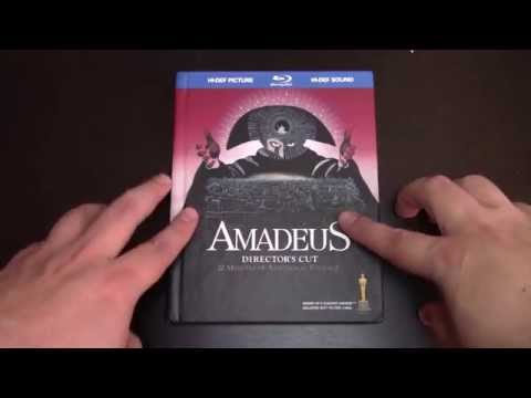 Amadeus Blu-ray Book Consumer Review