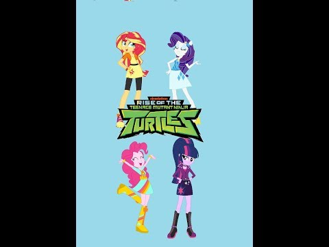 "MLP EG : ""Rise Of The Teenage Mutant Ninja Turtles"" (Theme Song)"
