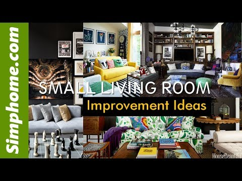 20 Small Living Room Improvement Ideas