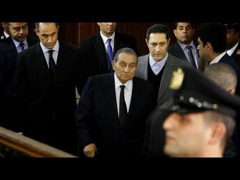 Ägypten: Der ehemalige Langzeitherrscher Husni Mubarak ...