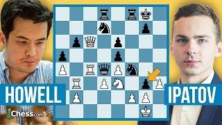 Türkiye Satranç Şampiyonu Ipatov Britanya Satranç Şampiyonu Howell'a Karşı | Kendi Maçlarım