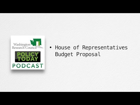 Policy Today: House Chair's 2015-17 Budget Proposal