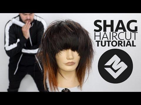 SHAG HAIRCUT TUTORIAL FALL 2018 - Matt Beck Haircutting Tutorial - SCENE HAIRCUT
