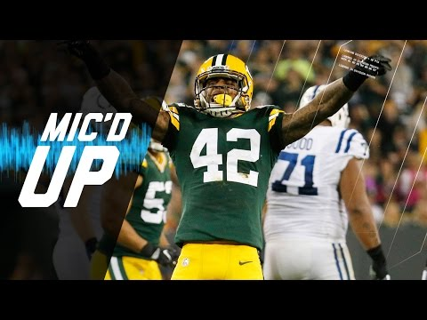 Video: Morgan Burnett Mic'd Up vs. Colts | Sound FX | NFL Films