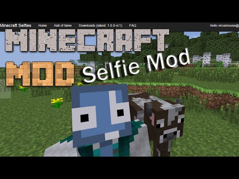 Minecraft Mods : Selfie mod | 1.7.10 | Mod Showcase | ITA