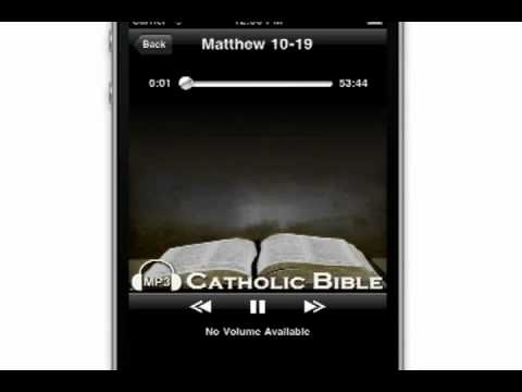 Video of Audio Catholic Bible
