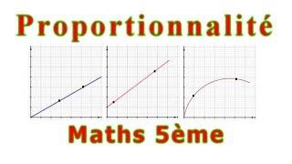 Maths 5ème - La proportionnalité Exercice 12