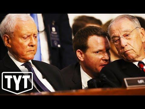 Republican Senators' Hypocritical Demands Of Kavanaugh Accuser