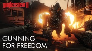 """MachineGames isn't just known for their strong storytelling. They're also a powerhouse in the realm of pure gameplay. And their latest game is no different. Announced at the Bethesda E3 2017 Showcase, Wolfenstein II: The New Colossus delivers the goods when it comes to intense – and intensely fun – shooter action. Subscribe to get the latest content on Wolfenstein at https://beth.games/subscribe""""What really puts MachineGames on the map is that while we're making really strong narrative games, we give enough room to have the proper gameplay experience,"""" says Senior Game Designer Arcade Berg. """"It's not that one is overpowering the other."""" From upgraded weapons to enhanced dual-wielding to bumped-up Nazi enemies, watch our latest video – with exclusive insights from the development team – for a first look at what's new in The New Colossus. Wolfenstein II: The New Colossus will release on October 27, 2017 for Xbox One, PlayStation 4, and PC. For more information, follow these channels:Official Site - https://beth.games/WolfensteinFacebook - https://facebook.com/WolfensteinTwitter – https://twitter.com/WolfensteinInstagram – https://instagram.com/Wolfenstein"""