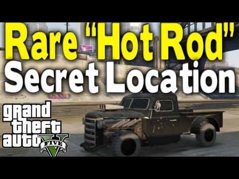 """GTA 5 – RARE """"HOT ROD"""" LOCATION (Rare Car Guide #7) [GTA V]"""
