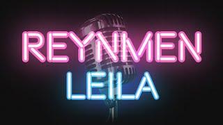 Reynmen - Leila (KARAOKE / SÖZLERİ / LYRICS)