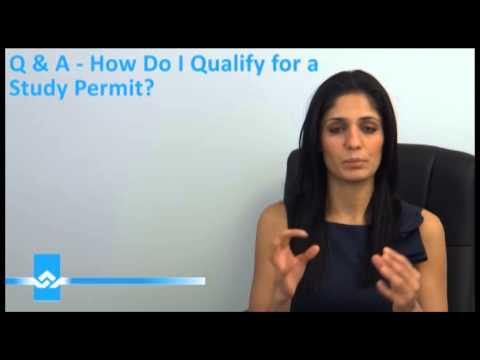 How to Qualify for a Study Permit Video