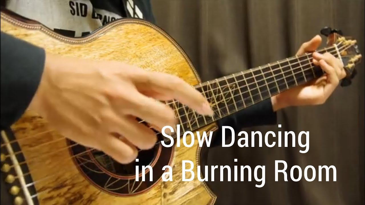 John Mayer – Slow Dancing in a Burning Room – Solo Acoustic Guitar – Arranged by Kent Nishimura