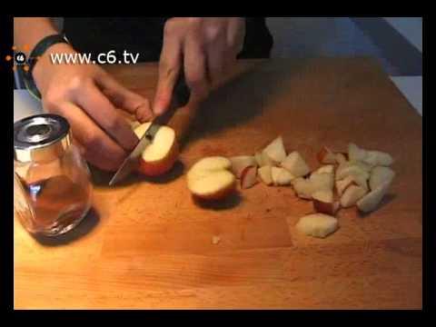 come cucinare un dessert di mele con la lavastoviglie!