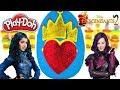 Huevo Sorpresa Gigante de Evie de Descendientes 2 La Película de Plastilina Play Doh en Español