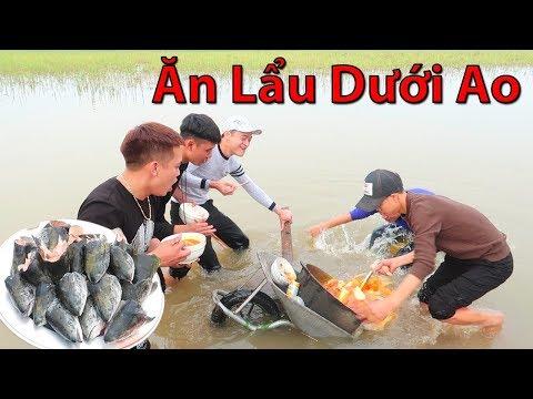 Hữu Bộ | Ăn Nồi Lẩu Đầu Cá Hồi Khổng Lồ Dưới Ao Theo Phong Cách Dubai - Thời lượng: 19 phút.