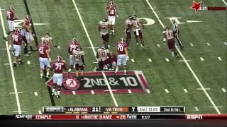 T.J. Yeldon vs Virginia Tech (2013)