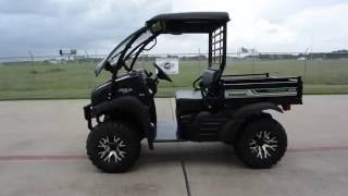 7. 2017 Kawasaki Mule SX XC SE with Flip Up Windshield, Stereo, Trailer Hitch