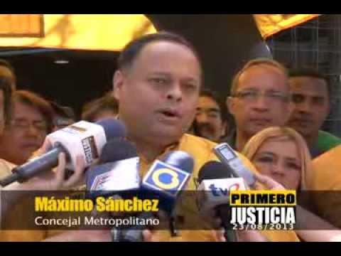 Primero Justicia dice NO+VIOLENCIA ante los  3.338 asesinatos entre  los meses de enero y julio sólo en Caracas