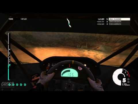 gusk8 - Dirt 3 Codemasters Racing, Rally, Rally Cross Location Kenya, Yatta Ridge Car: Monster Sport SX4 Hillclimb Special Carrer Season 3 Video GTX 570 Gamepad x360.